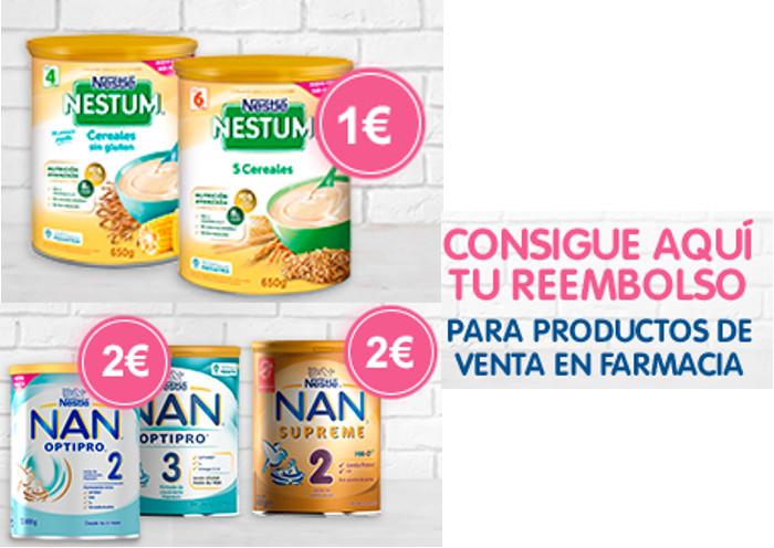 Reembolso Nestlé bebé